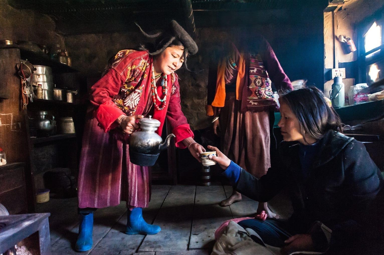 Wschodni Bhutan, fotoekspedycja. Spotkanie z ludźmi Brokpa