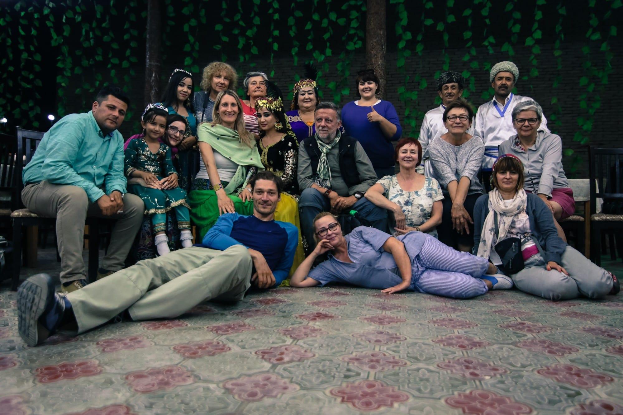 Grupa Soul Travel podczas wyprawy do Uzbekistanu