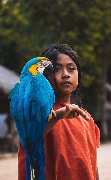 sciezka-zycia-dziecinstwo-dziewczynka-z-papuga-wyrusz-w-zyciowa-podroz-soul-travel